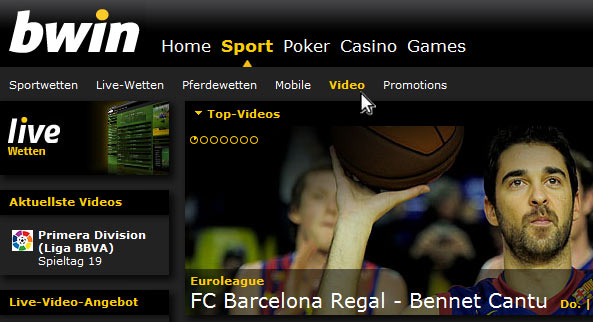 Bwin es live free Coupons depósito 174278