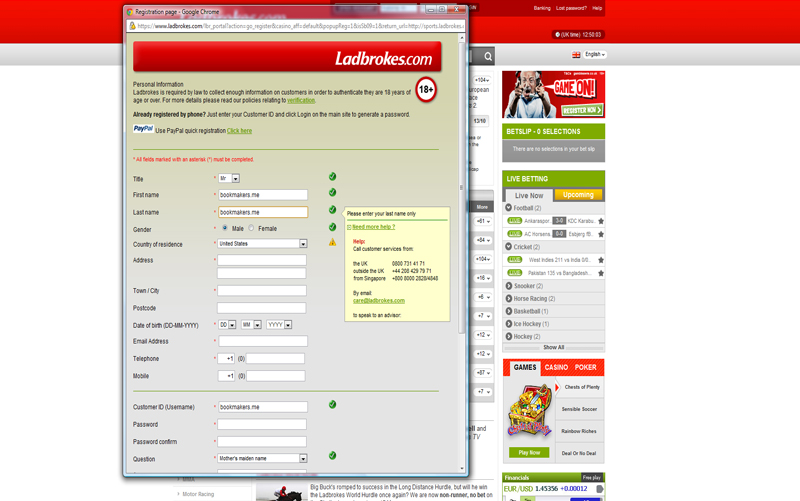 Online Ladbrokes william hill entrar 653249