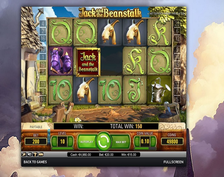 Jack and the beanstalk tragamonedas existen casino en Uruguay 86872