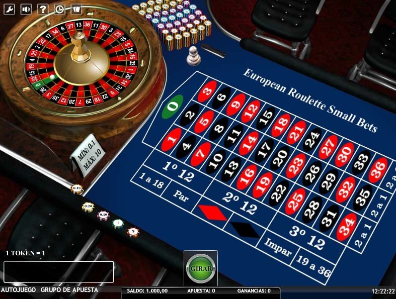La alta sociedad casino ruleta europea 953396