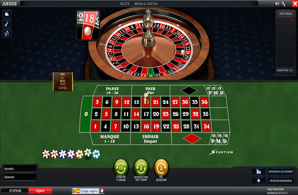 La alta sociedad casino ruleta europea 909968