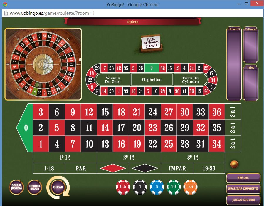 Tabla de ruleta 21Nova casino 907066