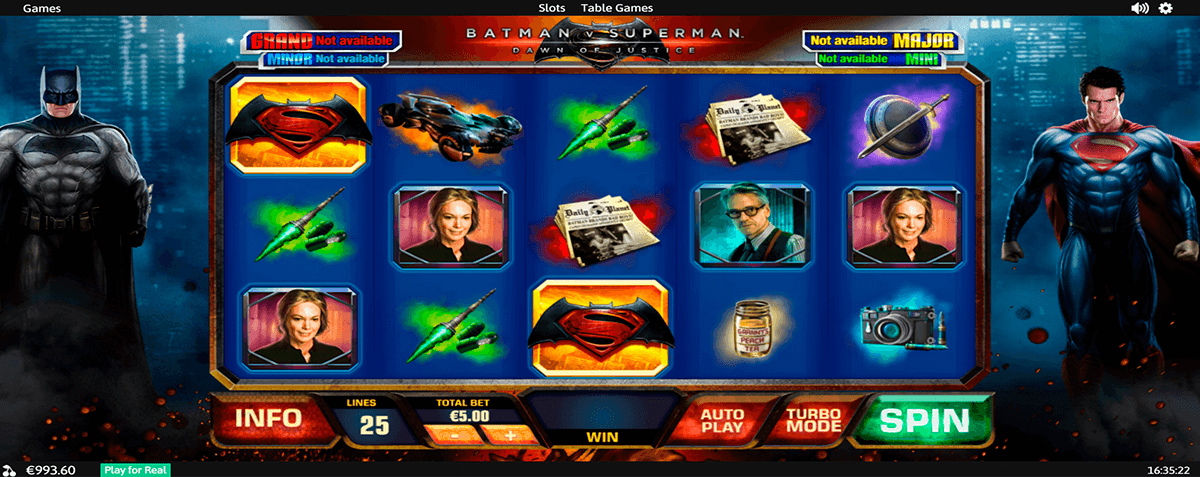 Unibet online clark slot Superman 922374